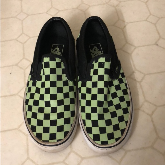 f97c0570e8234f Vans Checkered Slip-Ons. M 5beb9e4cbb7615c00b620d99